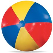 Best Beach Toys For Adults - Novelty Place Giant Inflatable Beach Ball, Pool Toy Review