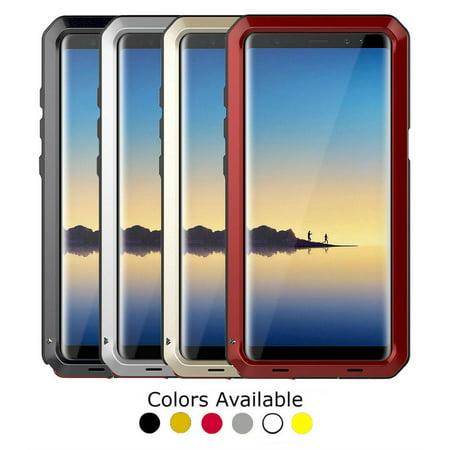 Gorilla Aluminum Alloy Case Heavy Duty (Black) For Samsung Galaxy - Yellow Samsung Faceplates