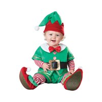 Santa's Lil Elf Baby Christmas Costume