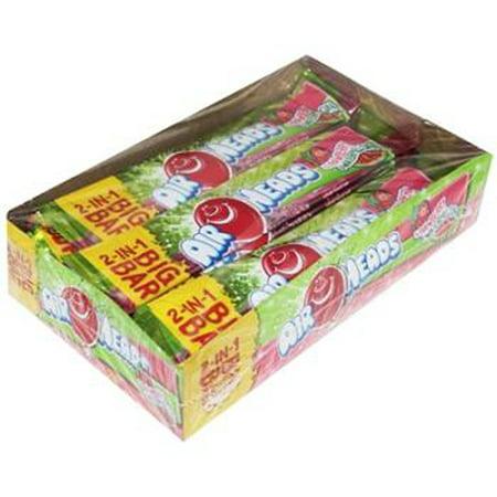 Image of Airheads Big Bars Strawberry; Watermelon - Box of 24