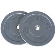 Diamond Pro Color Bumper Plate, Pair of 10 lbs