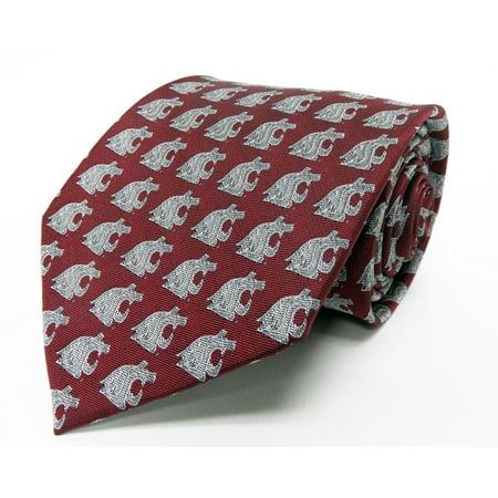 State Seminoles Tie (Washington State Cougars Repeating Necktie )