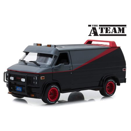 1983 GMC Vandura The A-Team (1983-1987) TV Series 1/24 Diecast Model Car by Greenlight 84072 (Series 365 Models)
