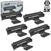 LD Compatible Replacements for Samsung SCX-4521D3 Set of 5 Black Laser Toner Cartridges for use in Samsung SCX-4321, SCX-4521, SCX-4521F, SCX-4521FG, and SCX-4521FR s