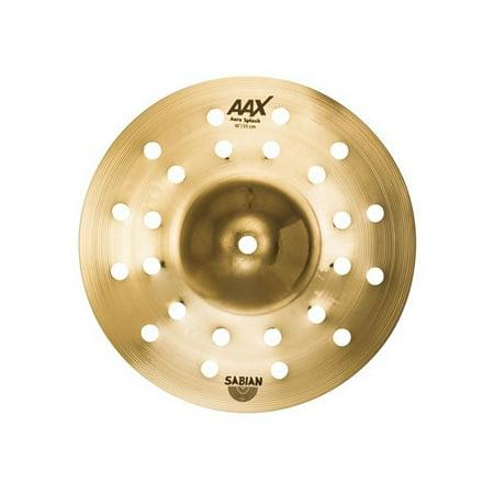 "Sabian AAX 10"" Aero Splash - Brilliant"