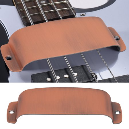 - 129 * 48.8 * 19mm Durable Alloy Pickup Cover Protector Replacement Part for Bass Guitar Guitar Pickup Cover Guitar Parts