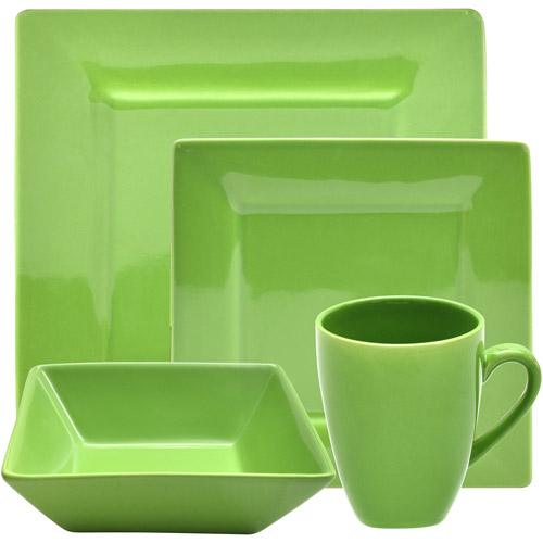 10 Strawberry Street Nova Square 16-Piece Dinnerware Set by 10 Strawberry Street