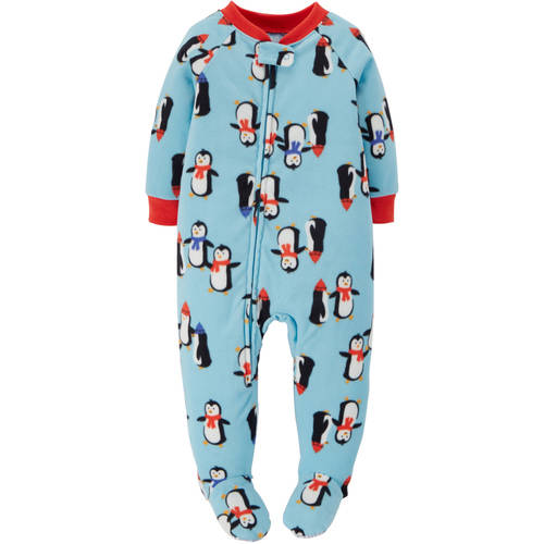 Child Of Mine by Carter's Baby Toddler Boy Fleece Footed Pajamas