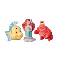 Disney The Little Mermaid Bath Toys Squirt Toys 3 Pk