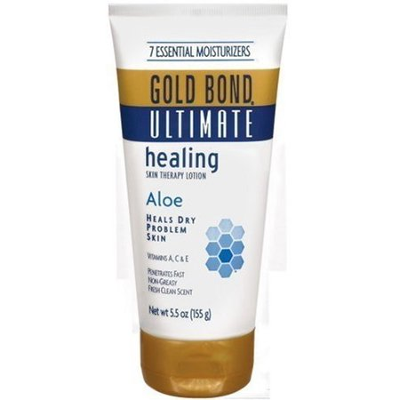 Gold Bond Ultimate Skin Therapy Lotion, Healing, Aloe, 5.5 oz, (Pack of