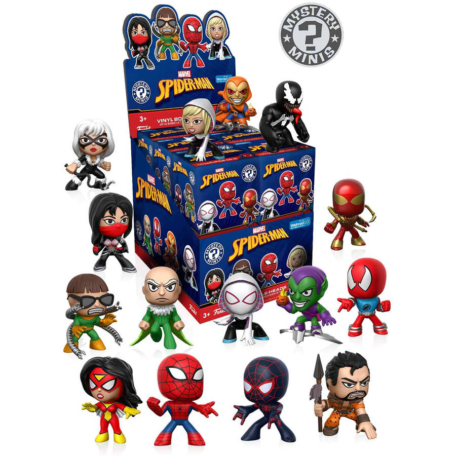 Funko Mystery Mini Spider-Man Classic Mystery Figure, Walmart Exclusive 14277