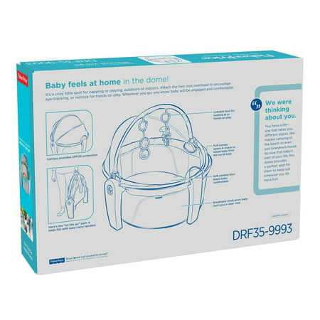 fisher price on the go baby dome assembly instructions