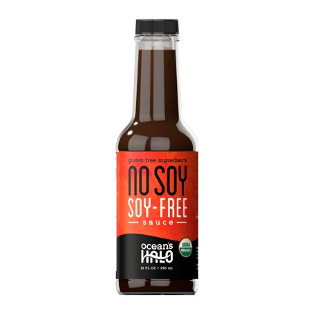 Ocean's Halo Organic No Soy Soy-free Sauce, 2 Pack, 10 oz. per bottle