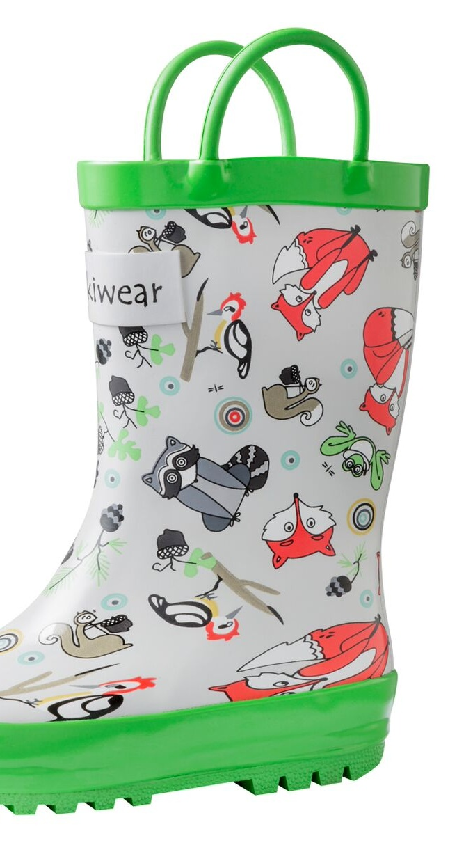 Oakiwear Kids Rain Boots For Boys Girls Toddlers Children Timberland Critters by