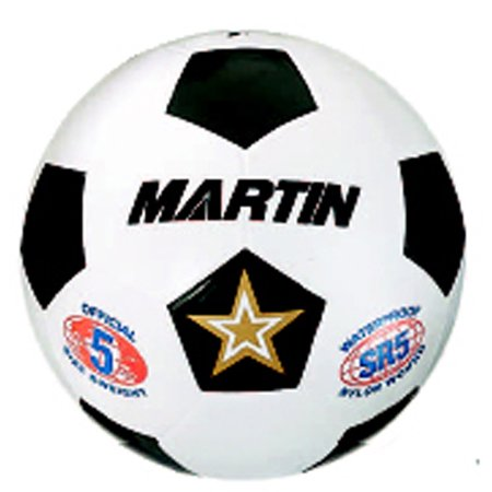 SOCCER BALL WHITE SIZE 4 RUBBER NYLON WOUND - Molded Nylon Wound Rubber