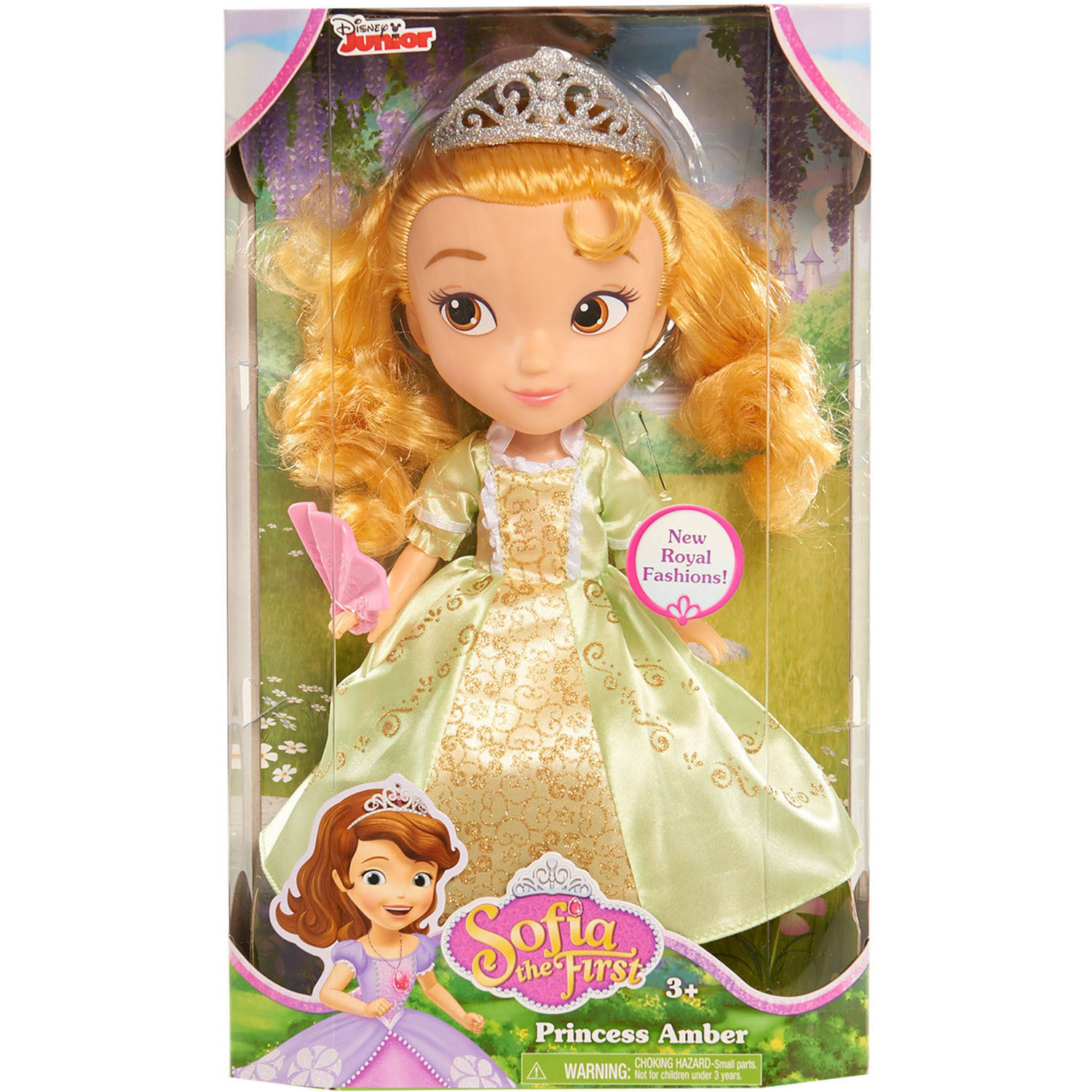 Sofia the First Royal Amber Dolls