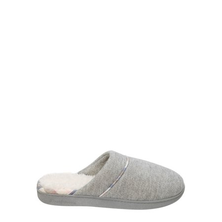 DF by Dearfoams Women's Casual Knit Closed Toe Scuff Slippers (Skylanders Slippers)