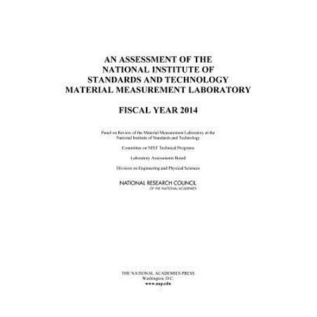 An Assessment of the National Institute of Standards and Technology Material Measurement Laboratory : Fiscal Year