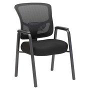 Bush Business Furniture Custom Comfort Mesh Back Guest Chair in Black
