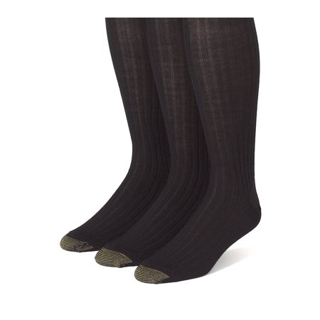 396acd1c24716 Gold Toe - Men's Windsor Wool Over the Calf Socks (Pack of 3), Size ...