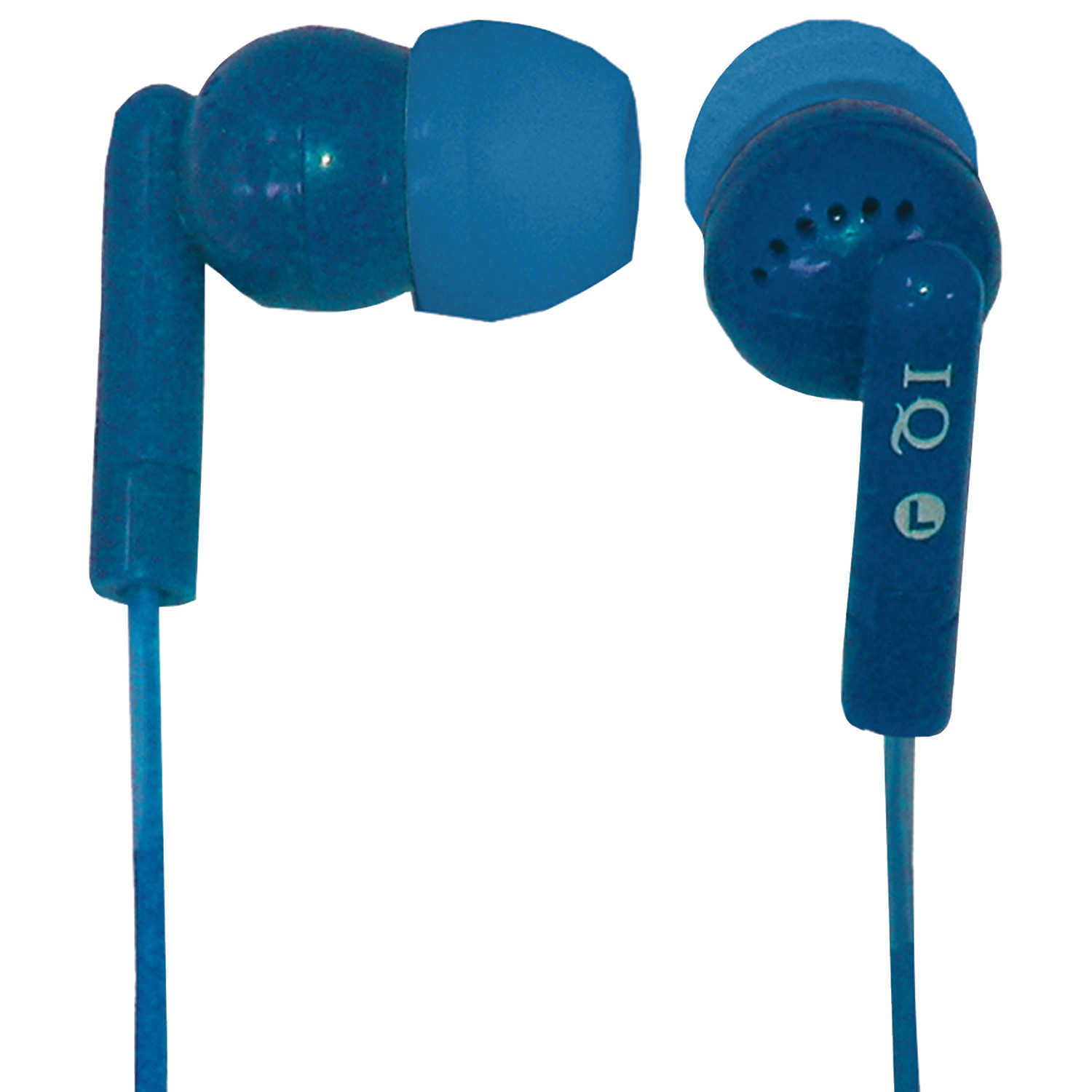 Supersonic Iq-106 Blue Porockz Stereo Earphones (blue)