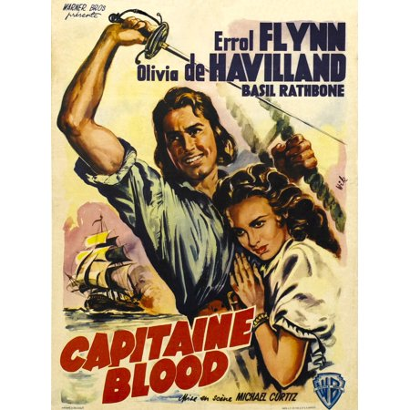 Captain Blood Canvas Art 11 X 17 Walmart