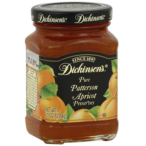 Dickinson's Pure Patterson Apricot Preserves, 10 oz (Pack of 6)