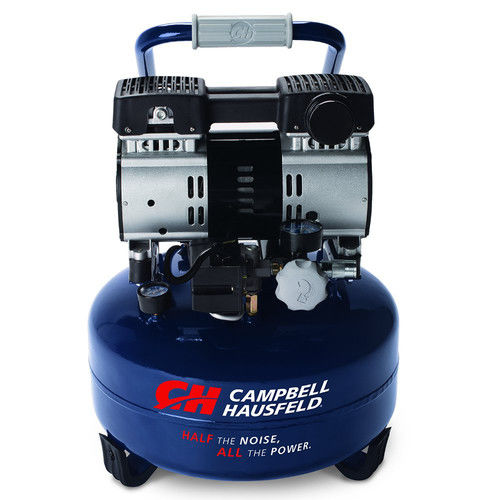 Campbell Hausfeld DC060500 Quiet Series 1 HP 6 Gallon Pancake Air Compressor