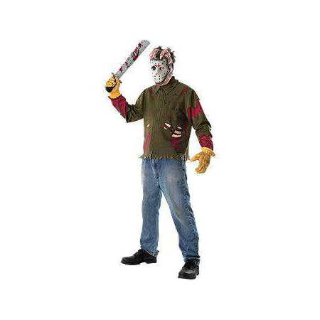Friday the 13th Jason Costume 15806 [Adult Standard] - Friday Meme Halloween
