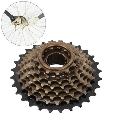 Ejoyous Bicycle Freewheel Cassette Sprocket 6 Speed 14T-28T Mountain Bike Replacement Accessory,Freewheel, Bike Cassette 6 Speed - image 7 of 7
