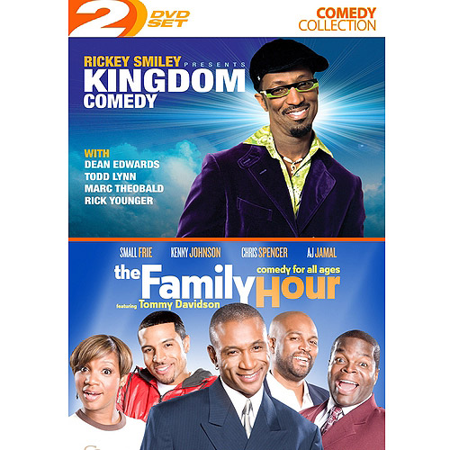 Rickey Smiley Presents: Kingdom Comedy / The Family Hour (Widescreen)