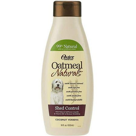 Oster Oatmeal Naturals Shed Control Dog Shampoo 18 Fl Oz