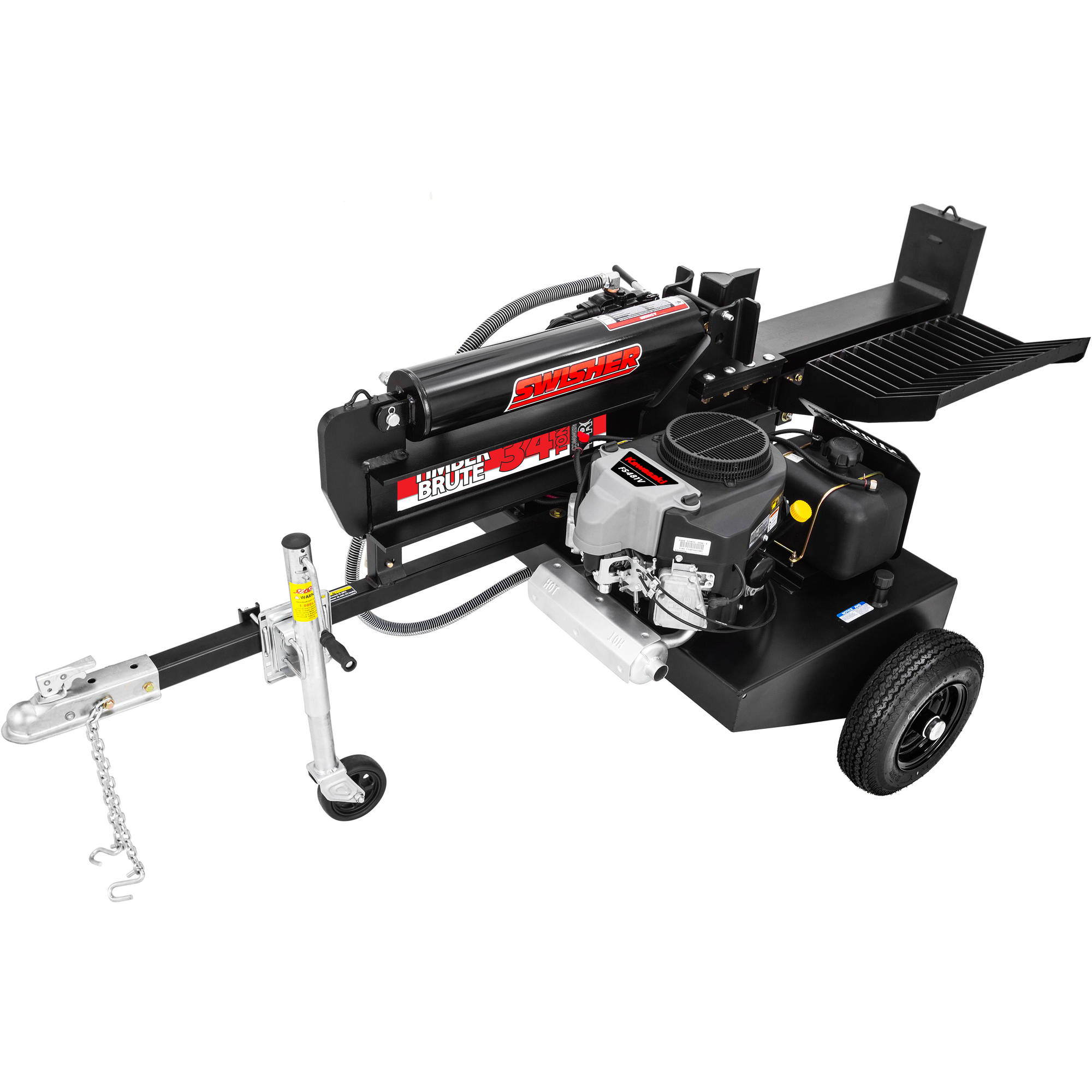 Swisher 14.5 HP 34-Ton Timber Brute Commercial Pro Log Splitter by Swisher Acquisition, Inc