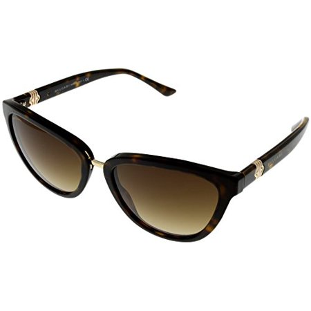 Bvlgari Sunglasses Cateye Women Brown BV8165 504/13 Size: Lens/ Bridge/ Temple: 56_18_135