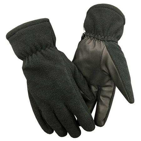 Northstar Unisex Fleece Thinsulate Gloves with Waterproof Bladder, Black. 501BK (Northstar Water Filter)