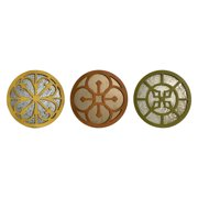 Valesso Wall Mirrors - Set of 3