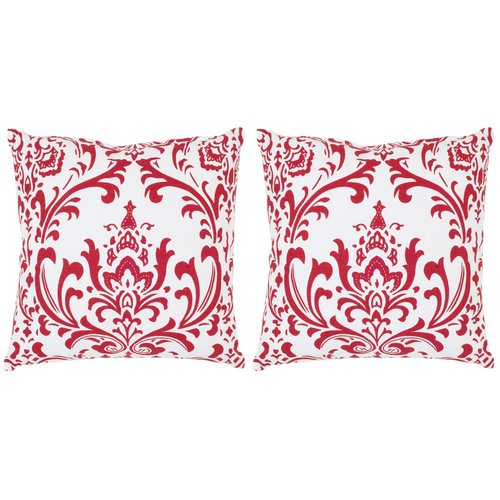 Average Throw Pillow Sizes : Safavieh Belos Cotton Decorative Cotton Throw Pillow (Set of 2) - Walmart.com