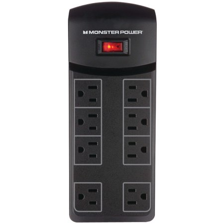 Monster MPME800 Essentials 800 8 Outlet Surge Protector 121821-00
