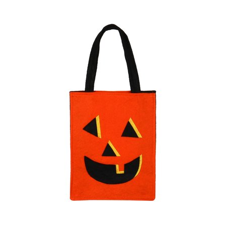 Halloween Bat Bag Devil Bag Kids Candy Handbag Bucket Children
