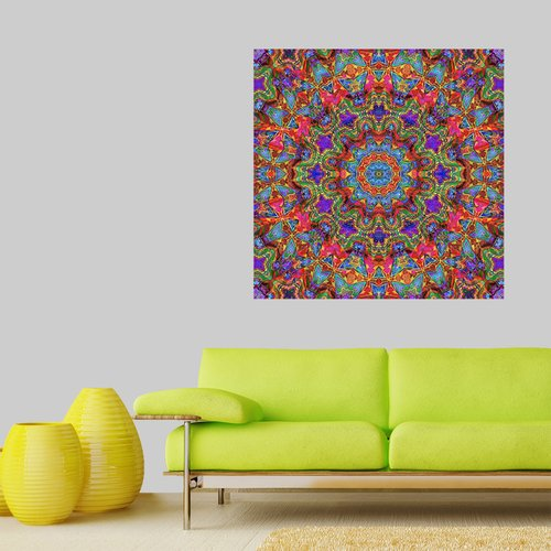My Wonderful Walls Kaleidoscope Wall Decal
