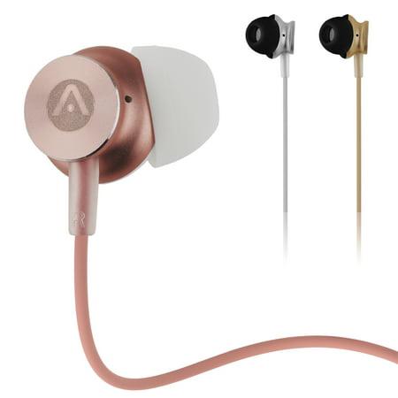 Audiomate A180 Dynamic Hi-Fi Stereo Metal 3.5mm Earphone Earbuds for iPhone, -