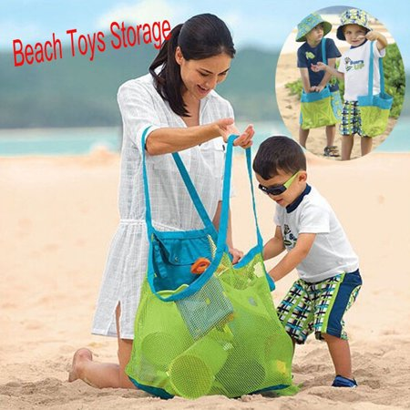 Baby Sand Away Carry Beach Toys Pouch Tote Mesh Large Childrens Storage Baby Bag Toy Collection](Childrens Online Stores)