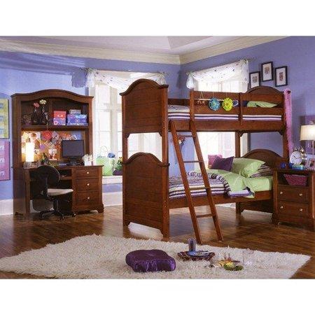 Vaughan Bassett Cottage Collection Bunk Bed Bed In Cherry Walmart Com