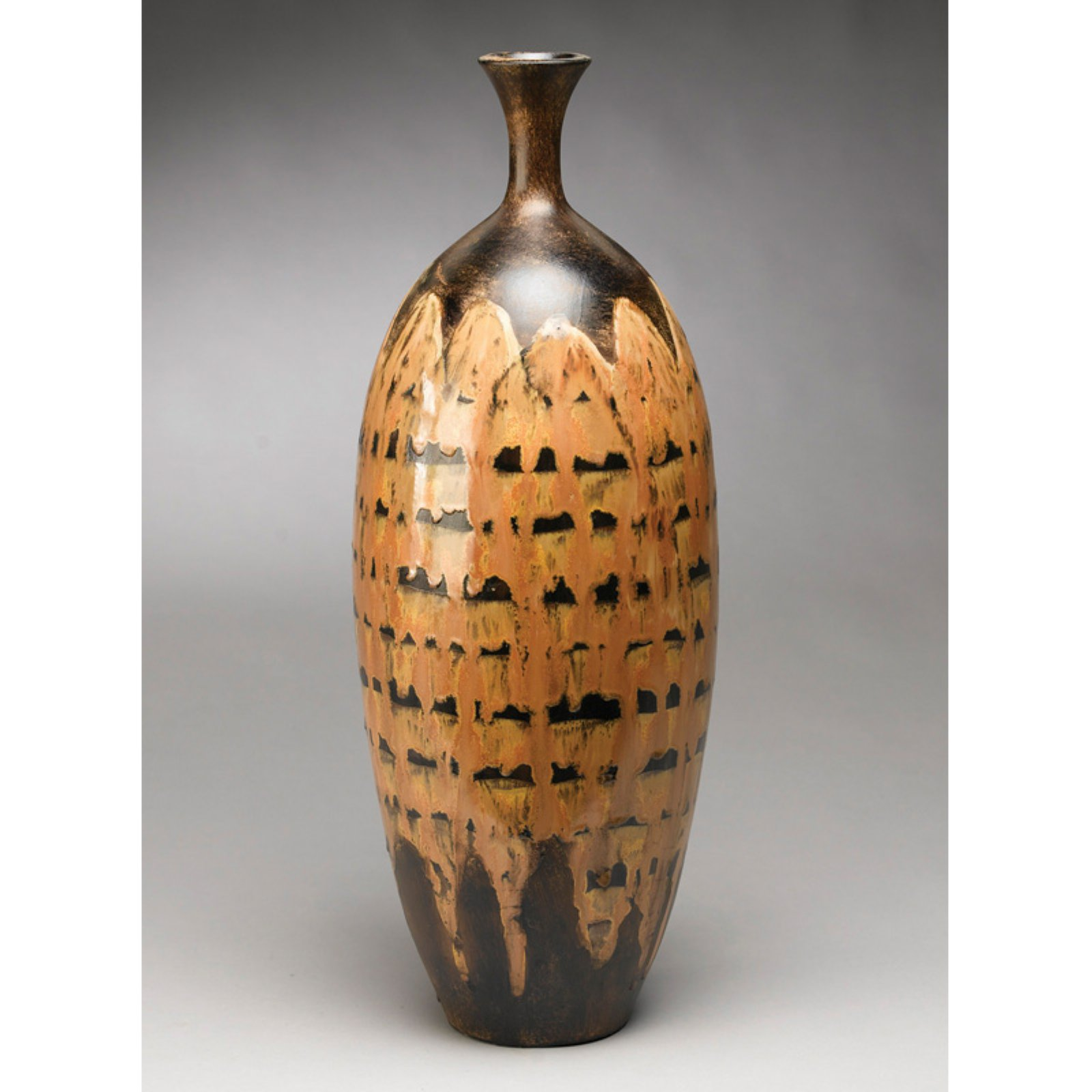 AA Importing 25 in. Hand Painted Table Vase by AA Importing