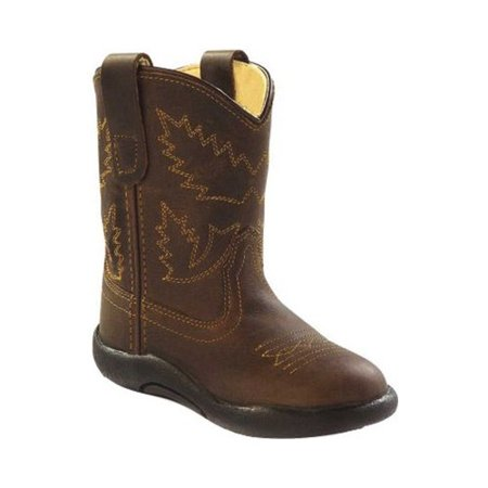 Infant Old West Broad Round Toe Boot - Toddler ()
