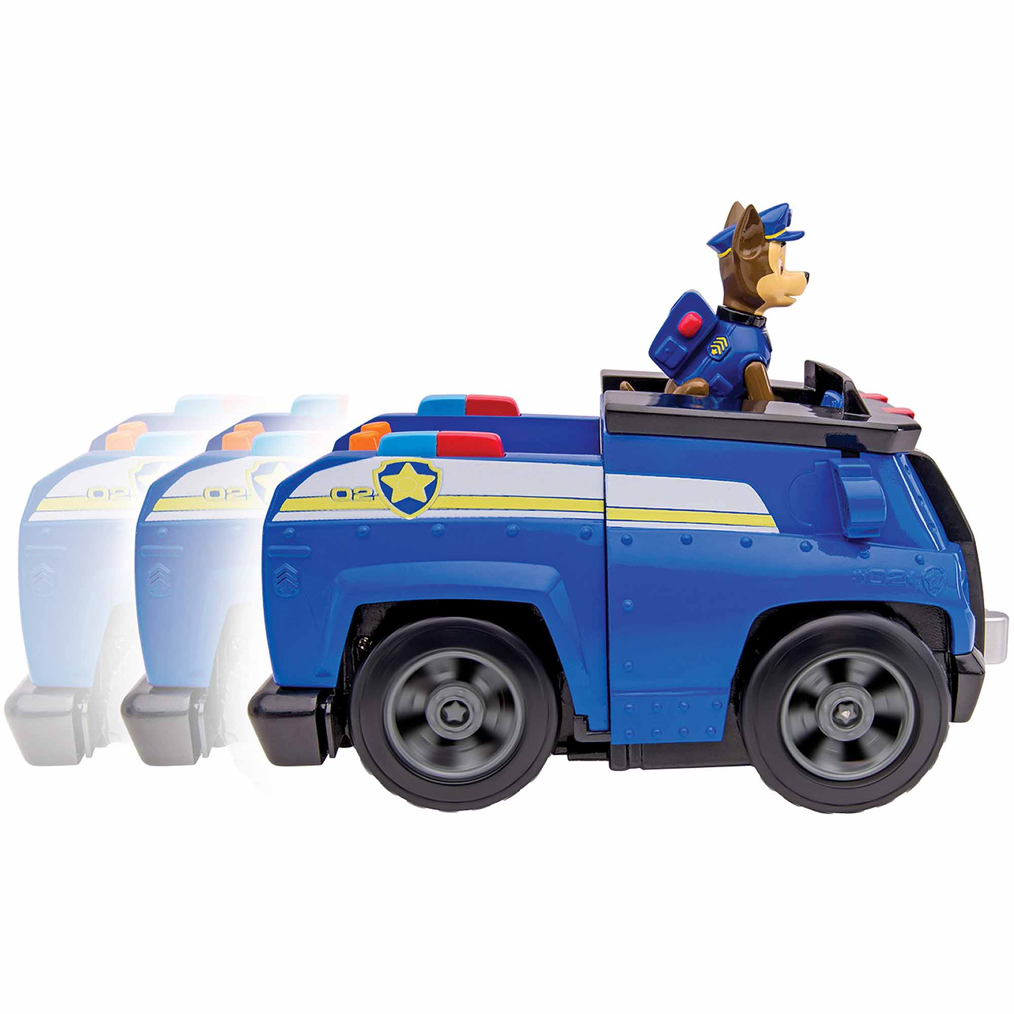 Nickelodeon Paw Patrol - Chase's Deluxe Cruiser, Figure with Vehicle with Sounds