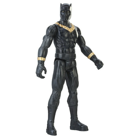 Mens Black Figure - Marvel Black Panther Titan Hero Series 12-inch Erik Killmonger