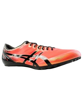 2785c701831d46 Product Image ASICS Mens SonicsPrint Elite Flash Coral Black Cleats  Athletic Shoes Size 11 New