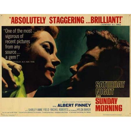 Saturday Night And Sunday Morning Poster Movie B Mini Promo