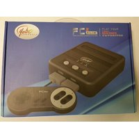 Yobo FC 2 Slim Game Top Loader Console System for NES & SNES & Super Famicom Games (Black)